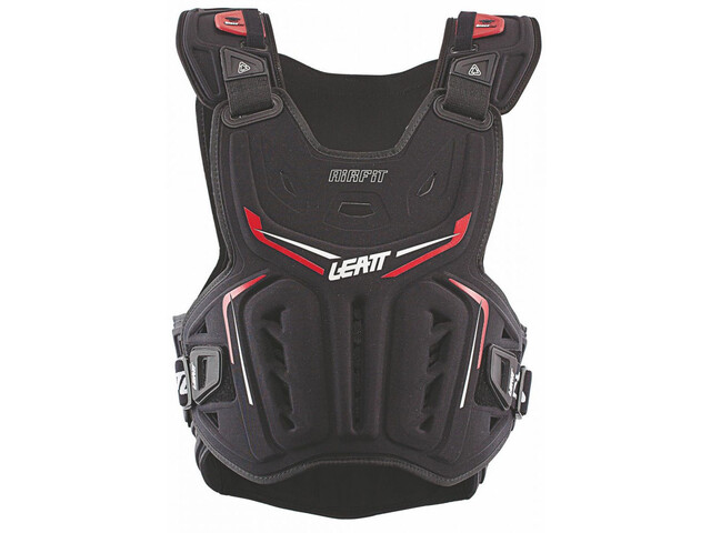 Leatt 3DF Airfit Brustprotektor schwarz/rot